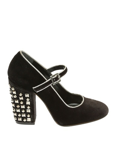 Black Pepper Topuklu Ayakkabı Siyah